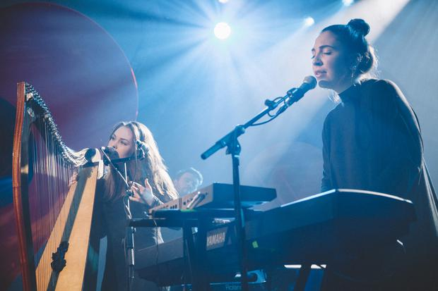 Saint Sister perform at Other Voices. Pic: RTE / Other Voices