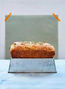 Rosemary, Parsnip and Parmesan Loaf Cake. Photography by Laura Edwards.