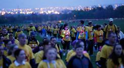 Pieta House's Darkness Into Light event in the Pheonix Park last year. Photo: Sasko Lazarov/Photocall Ireland