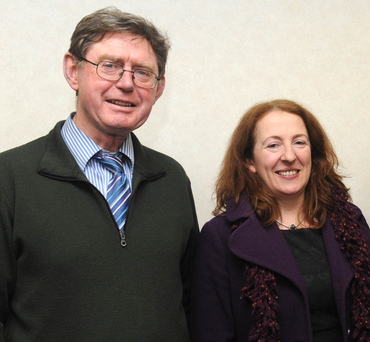 Willie Crowley, who was killed by dangerous driver Damien Kalinski, pictured with his wife, Claire Doyle