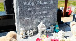 Marking the first anniversary of the tragedy, gardaí are again appealing for the mother of Alannah to come forward. Picture: PA