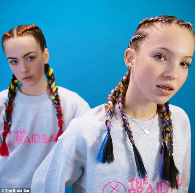 Stella Jones and Lila Grace front the latest campaign for The Braid Bar.