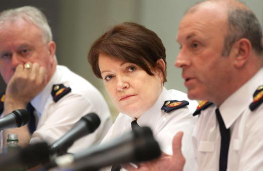 Garda Commissioner Nóirín O'Sullivan. Photo: Gerry Mooney