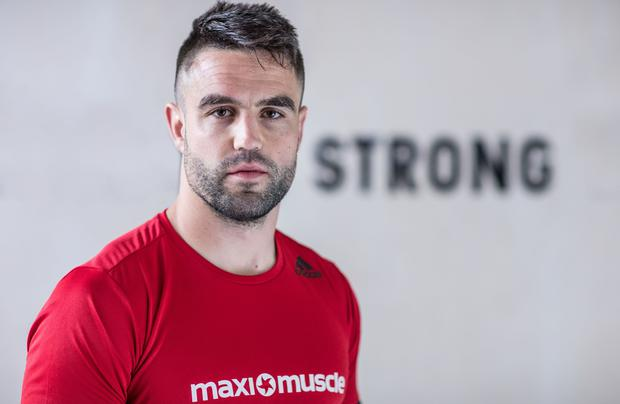 MaxiMuscle Relaunches In Ireland With 'Home Of Gains' Campaign, Dublin 4/5/2017 British & Irish Lions, Ireland & Munster scrum-half Conor Murray relaunched Maximuscle in Ireland with a new range of protein bars, designed for anyone looking to quickly increase their protein consumption. To celebrate the launch, Conor Murray held two exclusive training sessions in the specially created Home of Gains gym, in partnership with RAW. For the Summer months, members of the public will have the chance to attend the Home of Gains for hour-long intense and uniquely created training sessions designed to help them achieve their own physical 'gains': to build strength, develop lean muscle, burn fat or improve sports performance. Fans can sign up for free at www.maxinutrition.com/home-of-gains. For more information on Maximuscle, please visit www.maxinutrition.com https://www.instagram.com/maximuscle/?hl=en #HomeOfGains #Maximuscle #WhereTheStrongBelong Mandatory Credit ©INPHO/Dan Sheridan