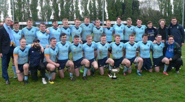 UCD's victorious U-20 McCorry Cup squad