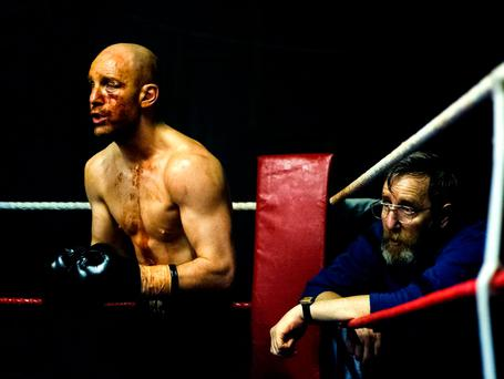 Harris in his latest film, Jawbone
