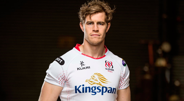 Andrew Trimble, in Dublin yesterday for a special media event organised by Ulster's main sponsors Kingspan, concedes he and his team-mates must take a good look at themselves after another poor season. Photo: Morgan Treacy/INPHO