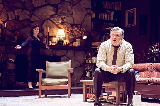 George and the dragon: Hill and Imelda Staunton in Who's Afraid of Virginia Woolf