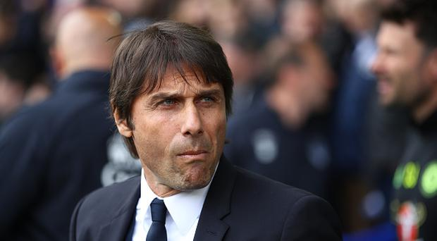 Chelsea manager Antonio Conte before the Premier League match between Everton and Chelsea at Goodison Park on April 30, 2017 in Liverpool, England. (Photo by Clive Brunskill/Getty Images)