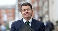 Minister Paschal Donohoe Picture: Tom Burke