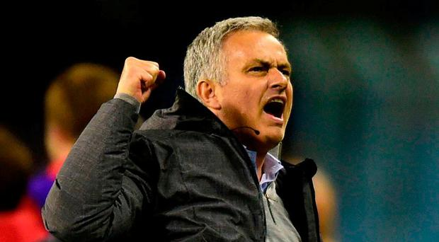 Manchester United manager Jose Mourinho. Photo: Miguel Riopa/AFP/Getty Images