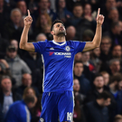 Chelsea's Diego Costa. Photo: Glyn Kirk/AFP Photo