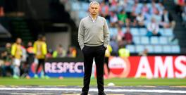 Manchester United manager Jose Mourinho. Photo: Reuters