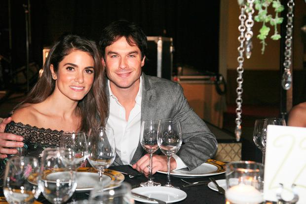 Nikki Reed and Ian Somerhalder attend the Unlikely Heroes 4th Annual Recognizing Heroes Charity Benefit at The Ritz-Carlton, Dallas on November 12, 2016 in Dallas, Texas. (Photo by Peter Larsen/Getty Images for Unlikely Heroes)