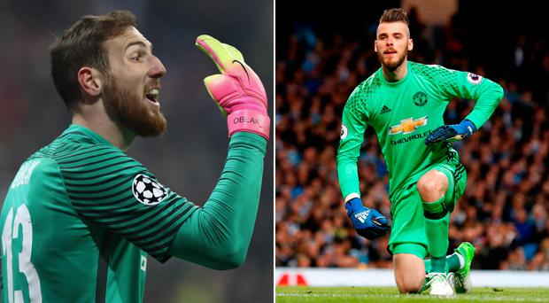 Atletico Madrid's Jan Oblak has emerged as Manchester United's number one goalkeeping target should David de Gea leave