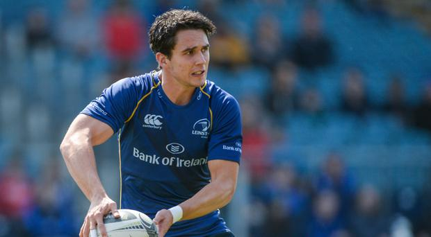 Joey Carberry has been a big part of a Leinster team that has scored 90 PRO12 tries this season