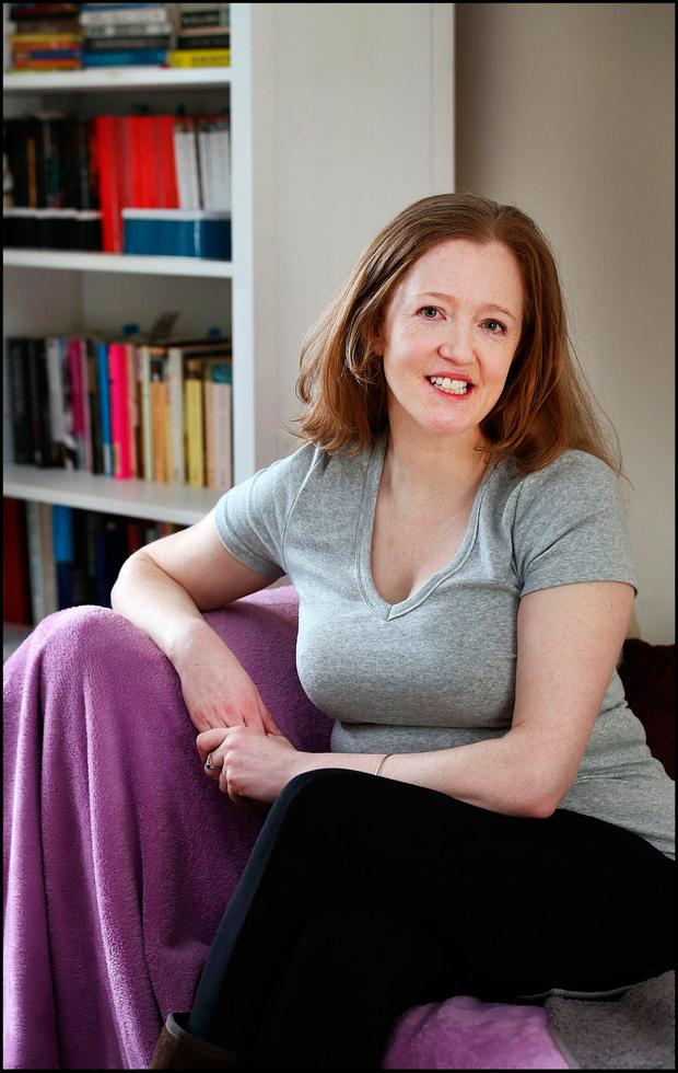 Anne Brennan (40)who lives with ME/CFS at home in Co Tipperary. Photo: Steve Humphreys
