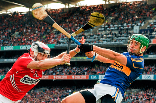 Hurleys are made from ash because of its renowned flexibility but sometimes the top players can push them beyond their limits Photo: Tomas Greally / SPORTSFILE
