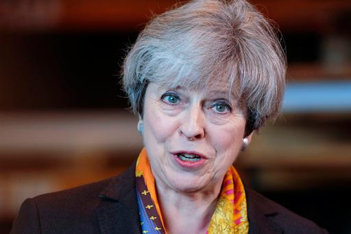 British Prime Minister Theresa May Picture: AFP/Getty Images