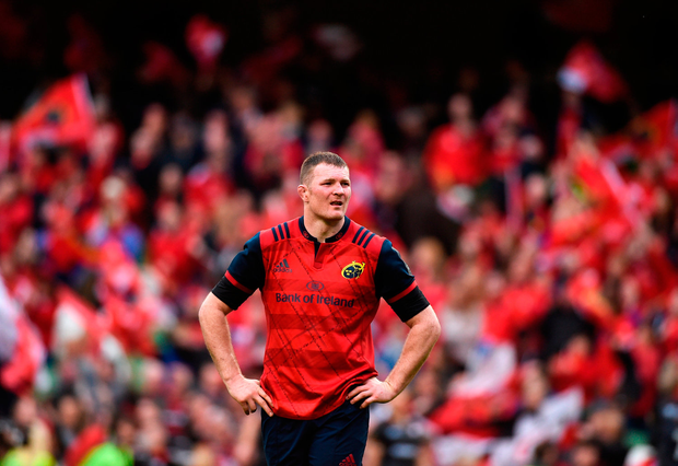 Donnacha Ryan is in the form of his life which makes his impending departure hard to take for Munster. Photo: Sportsfile