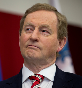 Taoiseach Enda Kenny Photo: REUTERS/Christinne Muschi