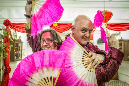 Dara O Briain and Ed Byrne decided to tackle another epic trip.