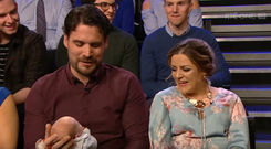 Michelle and Vin Manley from Drogheda opened up about the difficult decision they faced in 2014 after it was discovered their baby had a fatal foetal abnormality during a routine pregnancy scan.