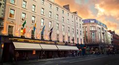 Publican Frank Gleeson will hold onto three properties, including well-known Dublin restaurant Marcel's, following a bitter High Court row which arose following the merger of the Mercantile/Capital chains of Dublin pubs, hotels and restaurants.