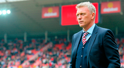 Sunderland manager David Moyes. Photo: PA Wire