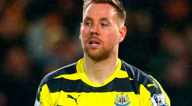 Rob Elliot: 'I have to be doing well for Newcastle'. Photo: Getty Images