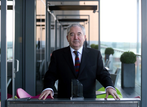 Evidence: Archetypal entrepreneur Harry Crosbie's €400m business was taken over five years ago by Nama and he wants to 'start again' Picture: Jason Clarke