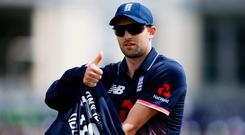 England's Mark Wood. Photo: Paul Childs/Action Images via Reuters