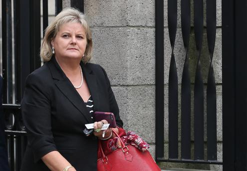 Claims: Angela Kerins Picture: Collins
