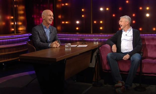Louis Walsh appeared on RTE's Ray Darcy Show