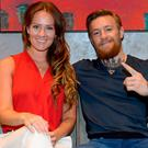 Dee Devlin and Conor McGregor welcomed their first child
