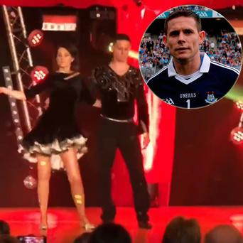 Stephen Cluxton performed a samba at a charity event in Drumcondra