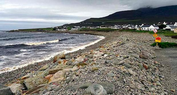 Dooagh Beach before the storm. Picture: Achill Island Tourism