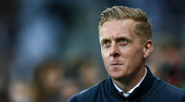 Gary Monk manager / head coach of Leeds United during the Sky Bet Championship match between Newcastle United and Leeds United at St James' Park on April 14, 2017 in Newcastle upon Tyne, England. (Photo by Robbie Jay Barratt - AMA/Getty Images)