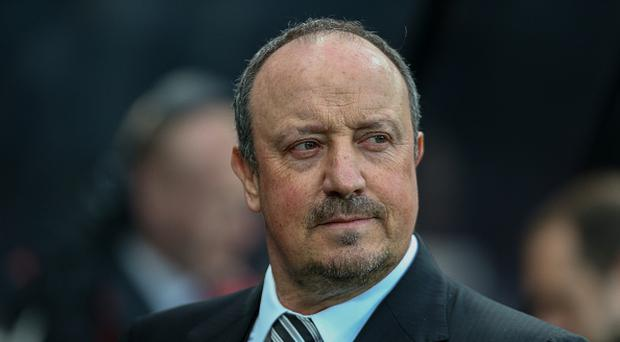 NEWCASTLE UPON TYNE, ENGLAND - APRIL 24: Newcastle United manager Rafa Benitez during the Sky Bet Championship match between Newcastle United and Preston North End at St James' Park on April 24, 2017 in Newcastle upon Tyne, England. (Photo by Alex Dodd - CameraSport via Getty Images)