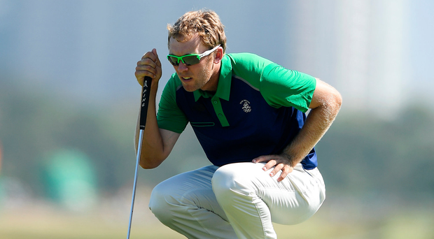 Seamus Power was in the final group on day three in North Carolina, having got himself to five-under and a tie for second after two tough, wind-swept opening days. Photo by Ramsey Cardy/Sportsfile