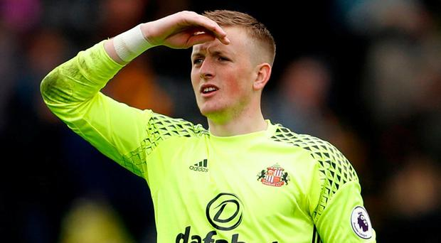 Sunderland's Jordan Pickford. Photo: Lee Smith/Action Images via Reuters