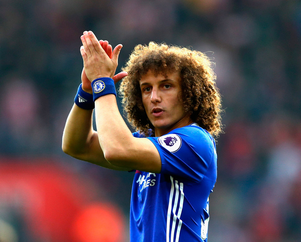 Chelsea's David Luiz. Photo: Getty