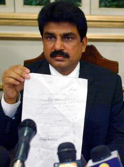 Shahbaz Bhatti, who was killed in 2011 after calling for reforms to Pakistan's blasphemy laws. Photo: AP
