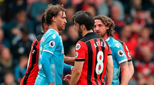 'I honestly didn't think it was going to be a free-kick' - Harry Arter apologises for wild lunge on Joe Allen
