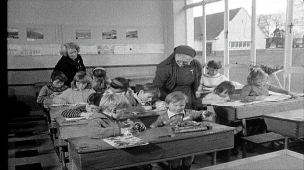 Nuns in the classroom, 1968