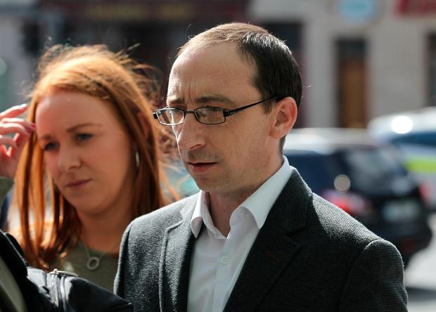Karl Finnegan, who was also attacked by Vesel Jahiri. Photo: Collins Courts