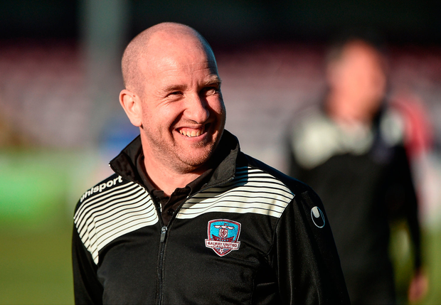 Galway manager Shane Keegan. Photo: Sportsfile