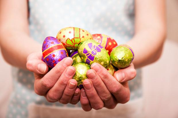 The big grocers benefited as shoppers spent 24pc more on packaged hotcross buns, 10pc more on fresh lamb and snapped up fancier Easter eggs this year. Image: Getty