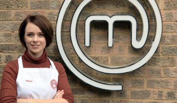 Alison O'Reilly in MasterChef, BBC One