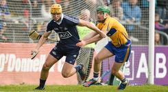 Conor Dooley in action against Clare